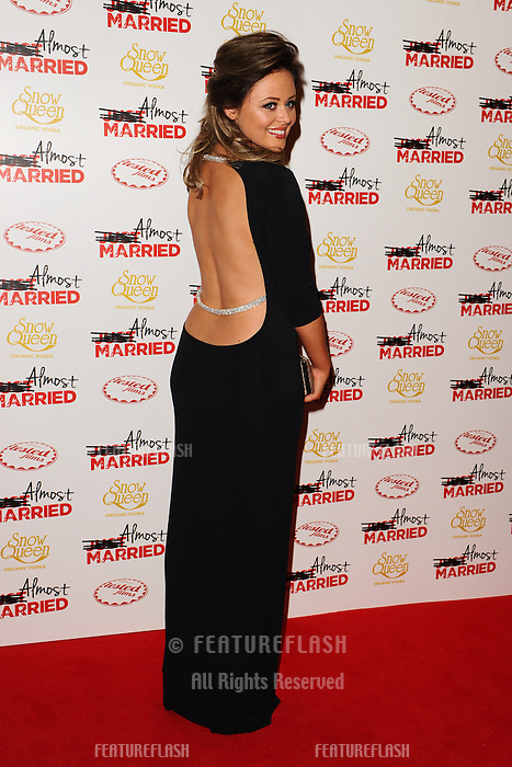 "Emily Atack arives for the ""Almost Married"" Gala Screening at the Mayfair Hotel, London. 26/03/2014 Picture by: Steve Vas / Featureflash"