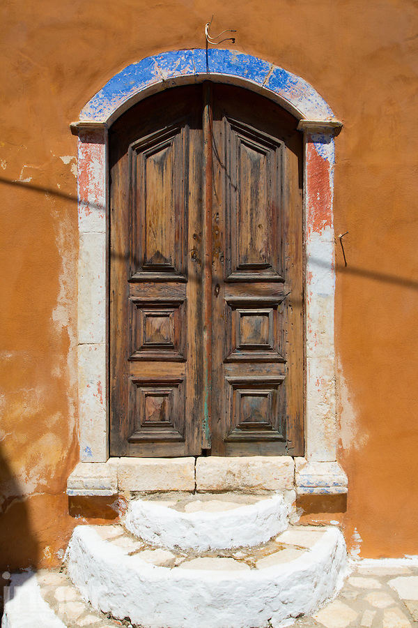 Doorway on Kastellorizo, Greece