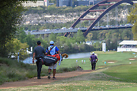 Rory McIlroy (NIR) and his caddie head down 12 during day 1 of the WGC Dell Match Play, at the Austin Country Club, Austin, Texas, USA. 3/27/2019.<br /> Picture: Golffile | Ken Murray<br /> <br /> <br /> All photo usage must carry mandatory copyright credit (© Golffile | Ken Murray)