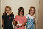 """Lucy Merriam """"Emma"""" - Haley Evans """"Miranca"""" - Alexa Gerasimovich """"Kathy"""" attend All My Children Fan Luncheon on September 13, 2009 at the New York Helmsley Hotel, NYC, NY. (Photo by Sue Coflin/Max Photos)"""