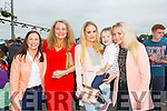 Paula O'Connell, Marie McEllistrim, Nicole McEllistrim, Grace O'Connell and Adrienne McEllistrim Kerry GAA Night at Dogs Race of Champions at the Kingdom Greyhound Stadium on Friday