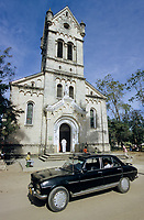 TANZANIA, Bagamoyo, old catholic church from german colonial time, built 1914 / TANSANIA, Bagamoyo, alte katholische Kirche aus der deutschen Kolonialzeit Deutsch-Ostafrika, gbaut 1914
