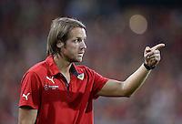 FUSSBALL   DFB POKAL 2. RUNDE   SAISON 2013/2014 SC Freiburg - VfB Stuttgart      25.09.2013 Trainer Thomas Schneider (VfB Stuttgart)