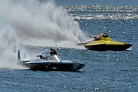 """Mark Weber, GNH-83 """"Blue Mule II, GNH-52 """"Wanna Bee""""  (Grand National Hydroplane(s)"""