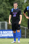 30 August 2015: DePaul's Philipp Koenigstein (GER). The Duke University Blue Devils hosted the DePaul University Blue Demons at Koskinen Stadium in Durham, NC in a 2015 NCAA Division I Men's Soccer match.