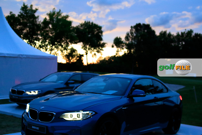 The BMW car display during the ProAm ahead of the Lyoness Open powered by Organic+ played at Diamond Country Club, Atzenbrugg, Austria. 8-11 June 2017 April.<br /> 07/06/2017.<br /> Picture: Golffile   Phil Inglis<br /> <br /> <br /> All photo usage must carry mandatory copyright credit (&copy; Golffile   Phil Inglis)