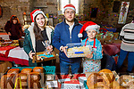 Marek and Julia Kurdziel and Anna Maria Diana enjoying the Farmers Christmas Market in Miltown on Saturday morning.