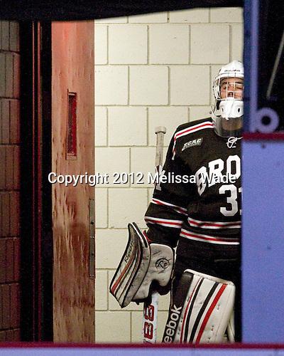 Marco De Filippo (Brown - 31) - The Harvard University Crimson defeated the visiting Brown University Bears 3-2 on Friday, November 2, 2012, at the Bright Hockey Center in Boston, Massachusetts.