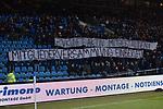 30.10.2017, Vonovia Ruhrstadion, Bochum, GER, 2.FBL, VFL Bochum vs SV Darmstadt 98, im Bild kundgebung gegen den Verein  auf der Haupttribuene.<br /> <br /> <br /> Foto &copy; nordphoto / Freund