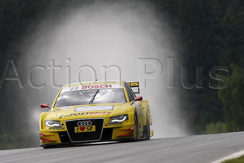 03 06 2011  9 Mike Rockenfeller D Audi team Abbot Sports Line E  Audi A4 DTM 2009 Motorsports DTM German Touring Cars Championship 2011 3 Round AT Red Bull Ring Spielberg