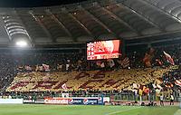 Calcio, Serie A: Roma-Milan. Roma, stadio Olimpico, 7 maggio 2011..Football, Italian serie A: AS Roma vs AC Milan. Rome, Olympic stadium, 7 may 2011..AS Roma fans..UPDATE IMAGES PRESS/Riccardo De Luca