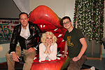 "Guiding Light's Mandy Bruno and Robert Bogue and Daidoca Strackbein, Audrey II star in Lilttle Shop of Horrors The Musical on May 27, 2018 presented by CaPAA at the Ritz Theater in Scranton, PA. Mandy is ""Audrey"", Robert is ""Orian, Berstein, Luce, Snip, Martin"" and Kelly is ""Seymour"". Mandy is  also the director, set designer, video projection production, props and costumes.  (Photo by Sue Coflin/Max Photo)"