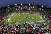 1 December 2007: A photograph of Stanford Stadium during Stanford's 20-13 win over California in the 110th Big Game at Stanford Stadium in Stanford, CA. Stanford leads the rivalry series over California, 55-44-11.