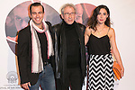 """Candela Serrat (Right) and Jose Sacristan (center) attend the Premiere of the movie """"MAGICAL GIRL"""" at Callao Cinemas in Madrid, Spain. October 16, 2014. (ALTERPHOTOS/Carlos Dafonte)"""