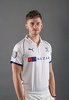 Picture by Allan McKenzie/SWpix.com - 02/04/2018 - Cricket - Yorkshire County Cricket Club Media Day 2018 - Headingley Cricket Ground, Leeds, England - Ben Coad.