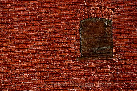 Brick wall, March 1988.   &amp;#xA;<br />