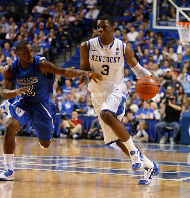 Terrence Jones during the University of Kentucky Wildcats game against Dillard University at Rupp Arena on November 5, 2010.  Photo by Latara Appleby | Staff