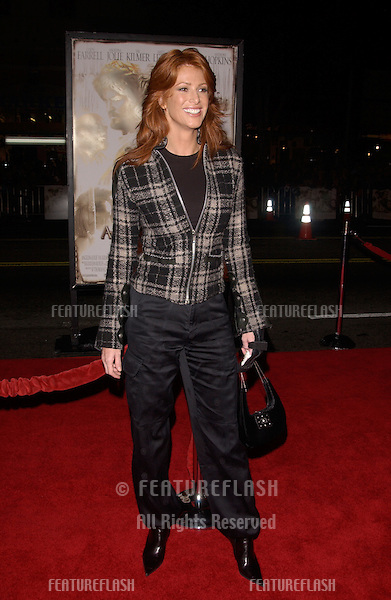 Nov 16, 2004; Los Angeles, CA: Actress ANGIE EVERHART at the world premiere, in Hollywood, of Alexander..