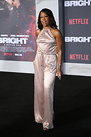 WESTWOOD, CA - DECEMBER 13: Regina King, at Premiere Of Netflix's 'Bright' at The Regency Village Theatre, In Hollywood, California on December 13, 2017. Credit: Faye Sadou/MediaPunch /NortePhoto.com NORTEPHOTOMEXICO