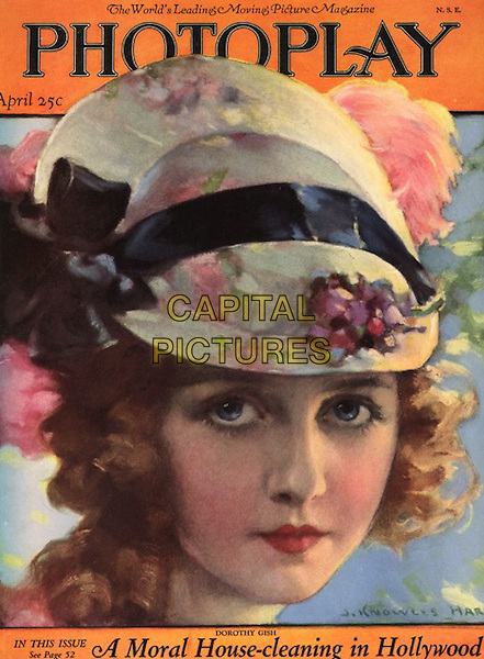 Dorothy Gish, Magazine Cover.*Filmstill - Editorial Use Only*.CAP/PLF.Supplied by Capital Pictures.