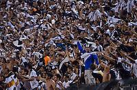 SÃO PAULO, SP, 04.12.2013 - COPA SUL-AMERICANA - FINAL - PONTE PRETA x LANÚS: Torcida da Ponte Preta durante Ponte Preta x Lanús, partida válida pela Final da Copa Sul-Americana, disputada no estádio do Pacaembu em São Paulo. Foto: Levi Bianco - Brazil Photo Press