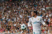 13th September 2017, Santiago Bernabeu, Madrid, Spain; UCL Champions League football, Real Madrid versus Apoel; Gareth Bale (11) Real Madrid looks for the pass