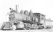 3/4 fireman's-side view of D&amp;RGW #318 near the Montrose engine house.<br /> D&amp;RGW  Montrose, CO  Taken by Boots, Laurens A. - 5/2/1947