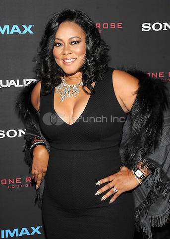 New York, NY-September 22:  Actress Lela Rochon attends a special screening of The Equalizer at the AMC Lincoln Square 13 IMAX on September 22, 2014 in New York City.  Credit: John Palmer/MediaPunch