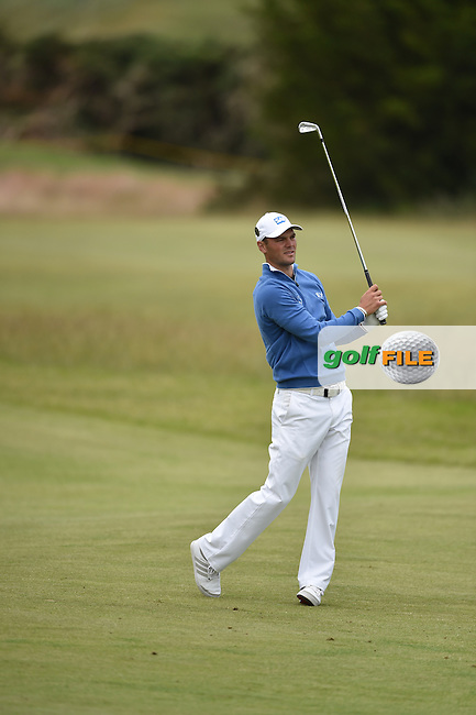 Martin Kaymer (GER)  on the 17th during the 3rd round on Sunday of the 144th Open Championship, St Andrews Old Course, St Andrews, Fife, Scotland. 19/07/2015.<br /> Picture: Golffile | Fran Caffrey<br /> <br /> <br /> All photo usage must carry mandatory copyright credit (&copy; Golffile | Fran Caffrey)