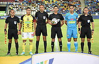 MONTERÍA- COLOMBIA, 24-02-2020:Lisandro Castillo Forero referee central. Partido entre Jaguares de Córdoba  y Alianza Petrolera  por la fecha 6 de la Liga BetPlay I 2020 jugado en el estadio Jaraguay Municipal de la ciudad de Montería. /Central referee Lisandro Castillo Forero. Jaguares de Cordoba  and Alianza Petrolera for the date 6 as part of BetPlay League I 2020 played at Jaraguay Municipal  stadium in Monteria. Photo: VizzorImage / Andrés Felipe López / Cont /