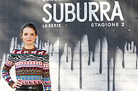 Federica Sabatini<br /> Rome February 20th 2019. Photocall for the presentation of the second season of the Netflix series Suburra at Casa del Cinema in Rome.<br /> Foto Samantha Zucchi Insidefoto