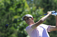Chesson Hadley (USA) tees off the 15th tee during Thursday's Round 1 of the 118th U.S. Open Championship 2018, held at Shinnecock Hills Club, Southampton, New Jersey, USA. 14th June 2018.<br /> Picture: Eoin Clarke | Golffile<br /> <br /> <br /> All photos usage must carry mandatory copyright credit (&copy; Golffile | Eoin Clarke)