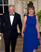 United States Representative Susan Davis (Democrat of California) and Steven J. Davis arrives for the State Dinner in honor of Prime Minister Trudeau and Mrs. Sophie Gr&eacute;goire Trudeau of Canada at the White House in Washington, DC on Thursday, March 10, 2016.<br /> Credit: Ron Sachs / Pool via CNP