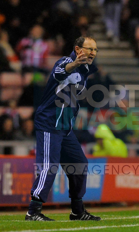 Sunderland manager Martin O'Neil - Barclays Premier League - Sunderland vs Queens Park Rangers - Stadium of Light - Sunderland - 27/11/12 - Picture Richard Lee/Sportimage