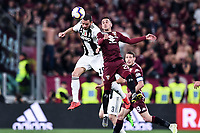 Leonardo Bonucci of Juventus , Alejandro Berenguer of Torino <br /> Torino 3-5-2019 Allianz Stadium Football Serie A 2018/2019 Juventus - Torino <br /> Photo Matteo Gribaudi / Image Sport / Insidefoto