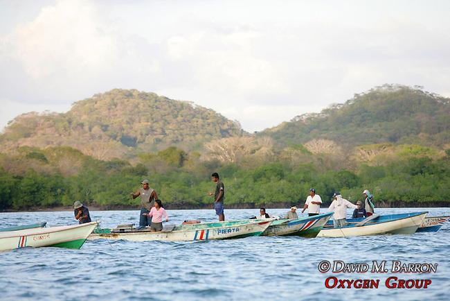 Fishermen On Gulf Of Nicoya