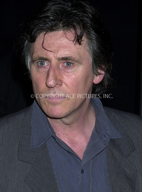 Mercedes-Benz Fashion Week Spring 2004 -- Marc Jacobs Fashion Show -- pictured Gabriel Byrne. New York, September 15, 2003. Please byline: NY Photo Press.   ..*PAY-PER-USE*      ....NY Photo Press:  ..phone (646) 267-6913;   ..e-mail: info@nyphotopress.com