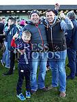 Cormac Grogan, Jack Black and Emmett Grogan at Colmcilles V Dunderry,  Meath Intermediate Final Replay at P&aacute;irc Tailteann, Navan.<br /> <br /> <br /> Photo - Jenny Matthews
