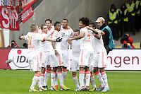 Bayern bejubeln die Meisterschaft