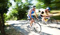 05 JUN 2010 - MADRID, ESP - Victor Pardo Romero - Spanish Age Group Triathlon Championships (PHOTO (C) NIGEL FARROW)