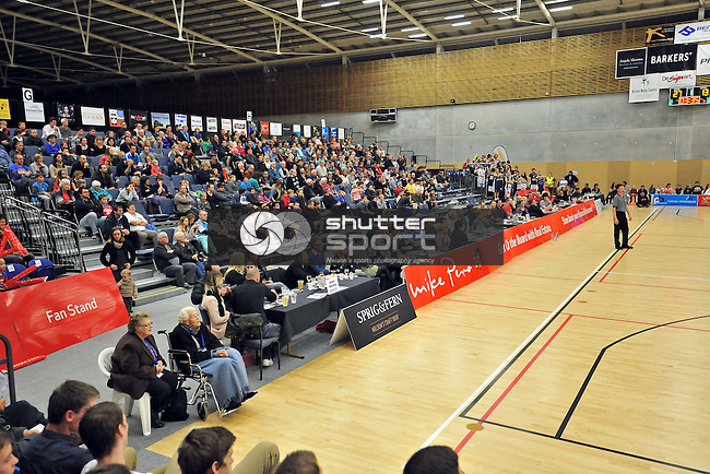 NELSON, NEW ZEALAND - JUNE 6: Mike Pero Nelson Giants v Taranaki Mountainairs at Saxton Stadium on June 6, 2015 in Nelson, New Zealand. (Photo by Barry Whitnall/Shuttersport Limited