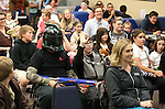 More than 70 people attend the costume contest during the Star Wars Day celebration at the Carson City Library in Carson City, Nev. on Wednesday, May 4, 2016.<br /> Photo by Cathleen Allison