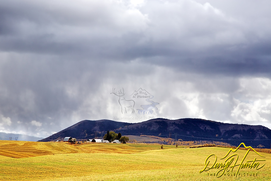 Autumn Storm, Farm, Swan Valley, Idaho