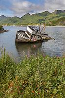 Captains Bay, Unalaska, Dutch Harbor, Aleutian Islands, Alaska