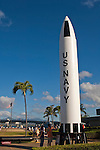 Polaris Missile at Pearl Harbor, Honolulu, Oahu, Hawaii