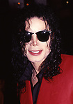 Michael Jackson attends a Broadway Show on March 1, 1990 in New York City.