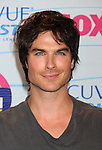 UNIVERSAL CITY, CA - JULY 22: Ian Somerhalder poses in the press room at the 2012 Teen Choice Awards at Gibson Amphitheatre on July 22, 2012 in Universal City, California.