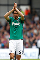 Ahmed Hegazi of West Brom salutes fans during the EPL - Premier League match between Crystal Palace and West Bromwich Albion at Selhurst Park, London, England on 13 May 2018. Photo by Carlton Myrie / PRiME Media Images.