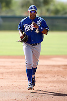 Christian Colon - Kansas City Royals - 2010 Instructional League.Photo by:  Bill Mitchell/Four Seam Images..