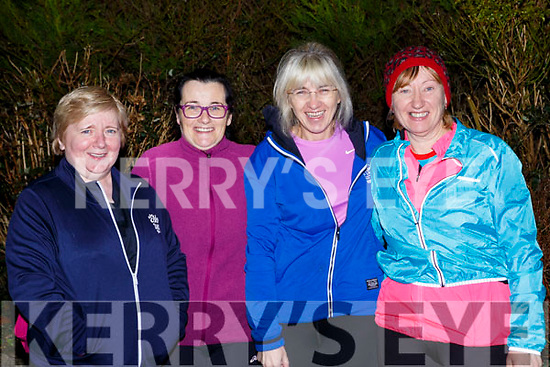 Getting into shape at the An Riocht AC couch to 5k on Thursday evening were Sheila Hartnett, Anne Quirke, Joanne Buckley all Abbeyfeale and Bridget O'Connor Ballymac